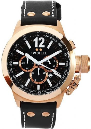 TW STEEL CEO Gold Chronograph Gents Watch CE1023